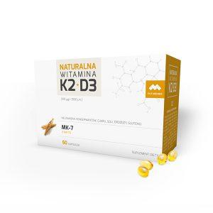 Naturalna Witamina K2+D3