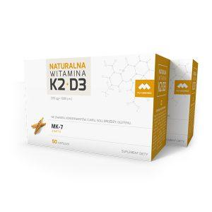 Dwupak Naturalna K2+D3